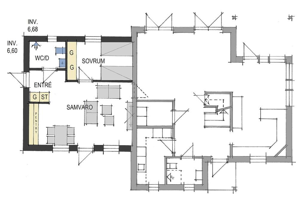 bygga lägenhet i villa